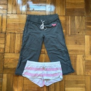 VS lounge Sweats & shorts bundle